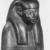 <em>Shabty of the Man Maya</em>, ca. 1390-1352 B.C.E. Wood, pigment, glass, 16 x 3 9/16 x 5 1/2 in. (40.7 x 9 x 14 cm). Brooklyn Museum, Gift of the Ernest Erickson Foundation, Inc., 86.226.21. Creative Commons-BY (Photo: , CUR.86.226.21_NegD_print_bw.jpg)