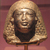 <em>Head and Bust of an Official in a Double Wig</em>, ca. 1390-1352 B.C.E. Red granite, 4 1/2 x 4 9/16 x 3 3/4 in. (11.4 x 11.6 x 9.6 cm). Brooklyn Museum, Gift of the Ernest Erickson Foundation, Inc., 86.226.28. Creative Commons-BY (Photo: Brooklyn Museum, CUR.86.226.28_erg456.jpg)