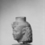 <em>Head of a Queen or Goddess</em>, ca. 230 B.C.E. Limestone, 4 1/4 x 3 1/8 in. (10.8 x 7.9 cm). Brooklyn Museum, Gift of the Ernest Erickson Foundation, Inc., 86.226.32. Creative Commons-BY (Photo: , CUR.86.226.32_NegC_print_bw.jpg)