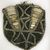 <em>Pectoral Ornament</em>. Boar tusk, bamboo, fiber, nassa shells, seeds, gum, 9 1/2 x 8 5/8 in. (24.1 x 21.9 cm). Brooklyn Museum, Gift of Marcia and John Friede and Mrs. Melville W. Hall, 87.218.72. Creative Commons-BY (Photo: , CUR.87.218.72.jpg)