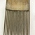 <em>Comb</em>. Bamboo, pigment, 5 x 7/8 in. (12.7 x 2.2 cm). Brooklyn Museum, Gift of Marcia and John Friede and Mrs. Melville W. Hall, 87.218.84. Creative Commons-BY (Photo: , CUR.87.218.84_back.jpg)