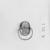 <em>Scarab</em>, ca. 1539-1292 B.C.E. Gold, steatite, glaze, 3/8 x 9/16 x 13/16 in. (1 x 1.5 x 2 cm). Brooklyn Museum, Brooklyn Museum Collection, X20.1. Creative Commons-BY (Photo: , CUR.X20.1_NegA_print_bw.jpg)