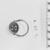 <em>Scarab with Design Interlaced Scrolls</em>, ca. 1938-1759 B.C.E. Steatite, glaze, 1/4in. (0.6cm). Brooklyn Museum, Brooklyn Museum Collection, X20.2. Creative Commons-BY (Photo: , CUR.X20.2_NegA_print_bw.jpg)
