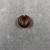 <em>Hair Ring</em>, ca. 1539-1292 B.C.E. Carnelian, depth: 3/16 in. (0.5 cm). Brooklyn Museum, Brooklyn Museum Collection, X249.52b. Creative Commons-BY (Photo: , CUR.X249.52b_view02.jpg)
