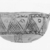 Cypriot. <em>Open Bowl</em>, 1700-1600 B.C.E. Clay, slip, 2 7/16 x Diam. 4 1/2 in.  (6.2 x 11.5 cm). Brooklyn Museum, Brooklyn Museum Collection, X469. Creative Commons-BY (Photo: Brooklyn Museum, CUR.X469_NegE_print_bw.jpg)
