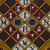 Vlisco B.V.. <em>Wax Print Textile, ABC Pattern</em>, ca. 2018. Cotton, synthetic dye, 36 × 36 in. (91.4 × 91.4 cm). Brooklyn Museum, Gift of Vlisco B.V., 2019.1.5 (Photo: , TL2018.76.5_detail01_PS9.jpg)