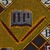 Vlisco B.V.. <em>Wax Print Textile, ABC Pattern</em>, ca. 2018. Cotton, synthetic dye, 36 × 36 in. (91.4 × 91.4 cm). Brooklyn Museum, Gift of Vlisco B.V., 2019.1.5 (Photo: , TL2018.76.5_detail03_PS9.jpg)