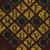 Vlisco B.V.. <em>Wax Print Textile, ABC Pattern</em>, ca. 2018. Cotton, synthetic dye, 36 × 36 in. (91.4 × 91.4 cm). Brooklyn Museum, Gift of Vlisco B.V., 2019.1.6 (Photo: , TL2018.76.6_detail01_PS9.jpg)