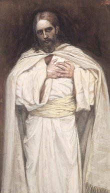 Savior Bible   8x10 Print Picture 1823 Our Lord Jesus Christ by James Tissot