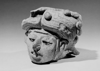 <em>Head of Idol</em>. Brooklyn Museum, Gift of Ramon V. Williams, 02.254.2236. Creative Commons-BY (Photo: Brooklyn Museum, 02.254.2236_acetate_bw.jpg)
