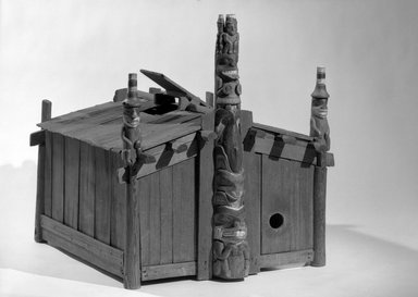 George Dickson (Haida, Native American). U003cemu003eModel Of House Of