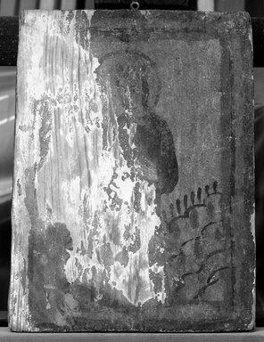 <em>Santa de Retablo</em>. Tempera on gessoed wood Brooklyn Museum, Museum Expedition 1905, Museum Collection Fund, 05.594 (Photo: Brooklyn Museum, 05.594_bw.jpg)