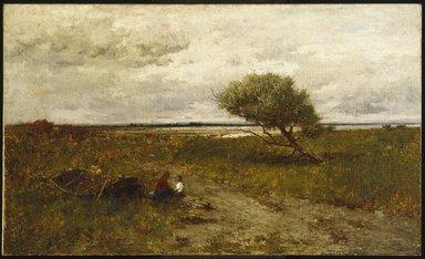 Robert Swain Gifford (American, 1840-1905). <em>The Coast of New England</em>, 1880. Oil on canvas, 36 x 60 3/16 in. (91.4 x 152.8 cm). Brooklyn Museum, Gift of Carll H. de Silver, 06.76 (Photo: Brooklyn Museum, 06.76_SL1.jpg)