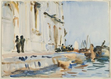 John Singer Sargent (American, born Italy, 1856-1925). <em>All' Ave Maria</em>, ca. 1902-1904. Translucent watercolor and touches of opaque watercolor, 10 x 14 1/16 in. (25.4 x 35.7 cm). Brooklyn Museum, Purchased by Special Subscription, 09.806 (Photo: Brooklyn Museum, 09.806_PS6.jpg)