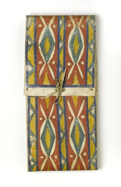 Possibly Eastern Dakota. <em>Parfleche</em>, 20th century. Hide, pigment, 25 1/2 x 11 3/4 in. (64.8 x 29.8 cm). Brooklyn Museum, Museum Expedition 1911, Museum Collection Fund, 11.694.9042. Creative Commons-BY (Photo: Brooklyn Museum, 11.694.9042_PS2.jpg)