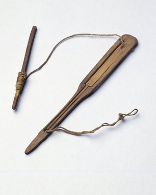 Ainu. <em>Jew's Harp</em>. Bamboo, 5/8 x 5 13/16 in. (1.6 x 14.7 cm). Brooklyn Museum, Gift of Herman Stutzer, 12.167. Creative Commons-BY (Photo: Brooklyn Museum, 12.167_SL4.jpg)