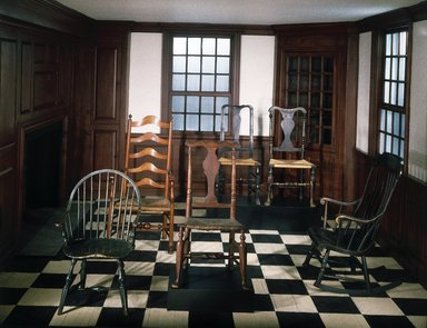 <em>The Danbury House, or Room</em>, ca. 1775. Wood, brick, plaster Brooklyn Museum, Henry L. Batterman Fund, 15.511. Creative Commons-BY (Photo: Brooklyn Museum, 15.511_transp00229c001_yr1982_installation_IMLS_SL2.jpg)