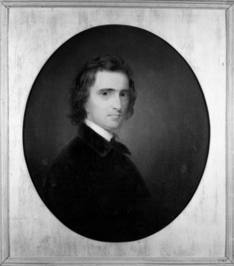Thomas Sully (American, born England, 1783-1872). <em>Cornelius Ver Bryck</em>, 1833. Oil on canvas, 26 3/8 x 22 15/16 in. (67 x 58.2 cm). Brooklyn Museum, Caroline H. Polhemus Fund, 16.26 (Photo: Brooklyn Museum, 16.26_framed_bw.jpg)