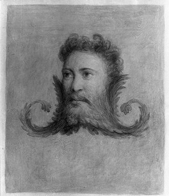 George Henry Hall (American, 1825-1913). <em>Pompeii</em>. Watercolor, 12 1/16 x 9 7/16 in. (30.6 x 23.9 cm). Brooklyn Museum, Gift of Jennie Brownscombe, 16.36 (Photo: Brooklyn Museum, 16.36_glass_bw.jpg)