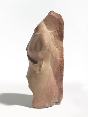 <em>Princess Meketaten</em>, ca. 1352-1336 B.C.E. Quartzite, 12 × 6 1/4 × 5 in., 11.5 lb. (30.5 × 15.9 × 12.7 cm, 5.22kg). Brooklyn Museum, Gift of Evangeline Wilbour Blashfield, Theodora Wilbour, and Victor Wilbour honoring the wishes of their mother, Charlotte Beebe Wilbour, as a memorial to their father, Charles Edwin Wilbour, 16.46. Creative Commons-BY (Photo: , 16.46_side_left_PS9.jpg)