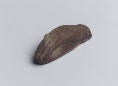 <em>Hand of a Statuette</em>, ca. 1352-1332 B.C.E. Sandstone, 11/16 × 1 11/16 in. (1.7 × 4.3 cm). Brooklyn Museum, Gift of Evangeline Wilbour Blashfield, Theodora Wilbour, and Victor Wilbour honoring the wishes of their mother, Charlotte Beebe Wilbour, as a memorial to their father, Charles Edwin Wilbour, 16.59. Creative Commons-BY (Photo: Brooklyn Museum, 16.59.jpg)