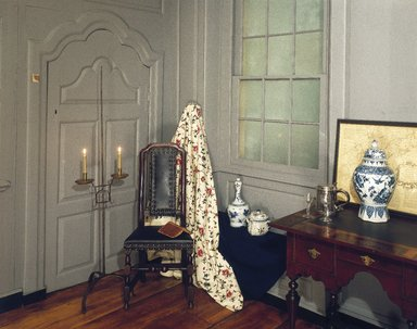 <em>Three Rooms of the Sewall House</em>, 1665 & 1720. Wood Brooklyn Museum, Museum Surplus Fund, 17.130. Creative Commons-BY (Photo: Brooklyn Museum, 17.130_yr1980_installation_hall_IMLS_SL2.jpg)