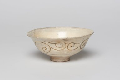 <em>Bowl</em>, last half of 15th-first half of 16th century. Buncheong ware, Height: 2 3/16 in. (5.5 cm). Brooklyn Museum, Gift of Dr. Bertram H. Schaffner, 1989.179.1. Creative Commons-BY (Photo: , 1989.179.1_PS11.jpg)
