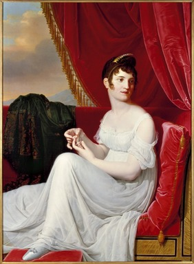 Jean-Bernard Duvivier (Belgian, 1762-1837). <em>Portrait of Madame Tallien</em>, 1806. Oil on canvas, 49 1/2 x 36 3/4 in. (125.7 x 93.3 cm). Brooklyn Museum, Healy Purchase Fund B, 1989.28 (Photo: Brooklyn Museum, 1989.28_SL3.jpg)