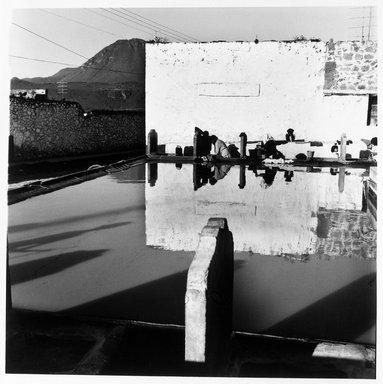 Renata von Hanffstengel (Mexican, born Germany 1934). <em>Washing Along for Centuries</em>, 1980. Gelatin silver photograph, image: 10 1/2 x 10 1/2 in. (26.7 x 26.7 cm). Brooklyn Museum, Gift of Marcuse Pfeifer, 1990.119.20. © artist or artist's estate (Photo: Brooklyn Museum, 1990.119.20_bw.jpg)