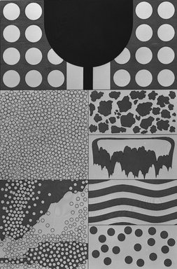Matt Mullican (American, born 1951). <em>Boiler</em>, 1988. Etching with 16 gauge copper plates, sheet: 22 x 15 1/8 in. (55.9 x 38.4 cm). Brooklyn Museum, Frank L. Babbott Fund, 1990.125.15. © artist or artist's estate (Photo: Brooklyn Museum, 1990.125.15_bw.jpg)