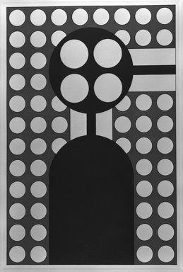 Matt Mullican (American, born 1951). <em>Boiler</em>, 1988. Etching with 16 gauge copper plates, sheet: 22 x 15 1/8 in. (55.9 x 38.4 cm). Brooklyn Museum, Frank L. Babbott Fund, 1990.125.16. © artist or artist's estate (Photo: Brooklyn Museum, 1990.125.16_bw.jpg)