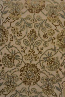 Robert Graves Co.. <em>Wallpaper</em>, ca. 1880. Metallic inks on paper, 45 x 19 7/16 in. (114.3 x 49.4 cm). Brooklyn Museum, Gift of Mrs. John J. Ide,  by exchange, 1991.39 (Photo: Brooklyn Museum, 1991.39.jpg)
