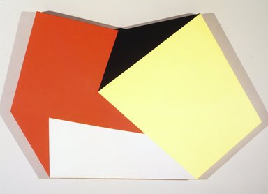 Charles Hinman (American, born 1932). <em>Circuit</em>, 1972. Oil on canvas, 43 x 61 in. (109.2 x 154.9 cm). Brooklyn Museum, Bequest of William K. Jacobs, Jr., 1992.107.17. © artist or artist's estate (Photo: Brooklyn Museum, 1992.107.17_transpc002.jpg)
