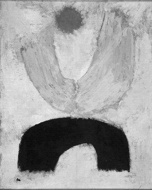 Charles G. Shaw (American, 1892-1974). <em>Samurai #4</em>, 1963. Oil on canvas, 14 1/2 x 11 3/4 in. (36.8 x 29.8 cm). Brooklyn Museum, Bequest of William K. Jacobs, Jr., 1992.107.35. © artist or artist's estate (Photo: Brooklyn Museum, 1992.107.35.jpg)