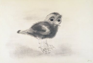 Morris Graves (American, 1910-2001). <em>Young Irish Bird</em>, 1954. Ink and wash on paper, 16 3/8 x 24 1/8 in. Brooklyn Museum, Bequest of Edith and Milton Lowenthal, 1992.11.13. © artist or artist's estate (Photo: Brooklyn Museum, 1992.11.13_transp418.jpg)