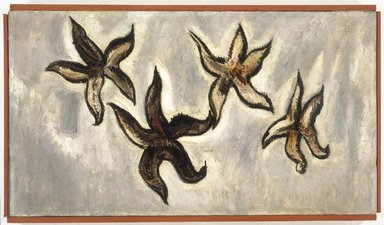 Marsden Hartley (American, 1877-1943). <em>Starfish</em>, 1936. Oil on canvas, 10 1/8 x 18 1/8 in. (25.7 x 46 cm). Brooklyn Museum, Bequest of Edith and Milton Lowenthal, 1992.11.16. © artist or artist's estate (Photo: Brooklyn Museum, 1992.11.16_SL1.jpg)
