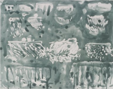 Pat Steir (American, born 1940). <em>Rainclouds</em>, 1991. Soapground, sugarlift and spit bite aquatint etching with drypoint Brooklyn Museum, Gift of the Community Committee of the Brooklyn Museum, 1992.116.9. © artist or artist's estate (Photo: Brooklyn Museum, 1992.116.9.jpg)