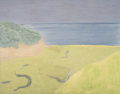 March Avery (American, born 1932). <em>Pamet River</em>, 1968. Oil on canvas, 40 x 50 in. (101.6 x 127 cm). Brooklyn Museum, Bequest of Ivor Green and Augusta Green, 1992.271.1. © artist or artist's estate (Photo: Brooklyn Museum, 1992.271.1_transpc004.jpg)