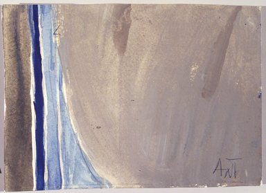 Alma W. Thomas (American, 1895-1978). <em>Untitled</em>, 1972. Watercolor on paper, 5 x 7 in. Brooklyn Museum, Gift of Peter J. and Charlotte M. Ketchum, 1993.160.5. © artist or artist's estate (Photo: Brooklyn Museum, 1993.160.5_transp3662.jpg)