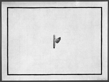 Richard Tuttle (American, born 1941). <em>[Untitled]</em>, 1993. Watercolor woodcut on Xuan Zhi paper, sheet: 12 x 16 in. (30.5 x 40.6 cm). Brooklyn Museum, Emily Winthrop Miles Fund, 1993.171.5. © artist or artist's estate (Photo: Brooklyn Museum, 1993.171.5_bw.jpg)
