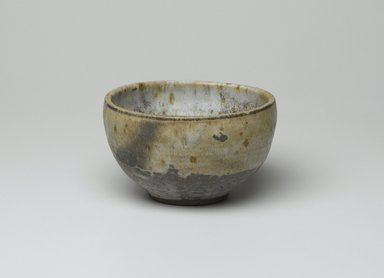 Takaezu Toshiko (American, born 1929). <em>Tea Bowl</em>, 20th century. Stoneware, brown stoneware, 3 x 5 1/8 in. (7.6 x 13 cm). Brooklyn Museum, Gift of Robert S. Anderson, 1993.185.2. Creative Commons-BY (Photo: Brooklyn Museum, 1993.185.2_PS2.jpg)