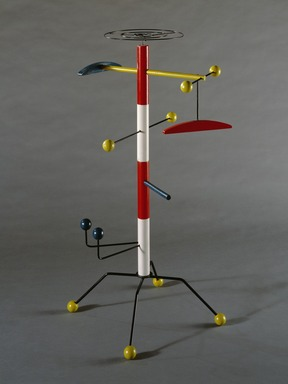 Richard Neagle (American, born 1922). <em>The Bamboozler (Child's Clothes Tree)</em>, ca. 1953. Wood, metal, 44 1/8 x 18 1/4 x 20 1/4 in.  (112.1 x 46.4 x 51.4 cm). Brooklyn Museum, Alfred T. and Caroline S. Zoebisch Fund, 1993.6. Creative Commons-BY (Photo: , 1993.6_SL3.jpg)