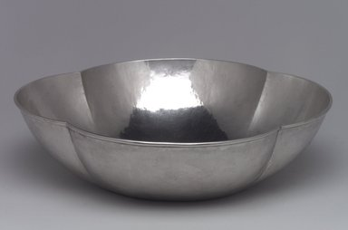 Lebolt & Company. <em>Bowl</em>, 1915-1920. Silver, 2 3/4 x 10 1/4 x 10 1/4 in. (7 x 26 x 26 cm). Brooklyn Museum, Gift of Daniel Morris and Denis Gallion, 1994.205.1. Creative Commons-BY (Photo: Brooklyn Museum, 1994.205.1.jpg)