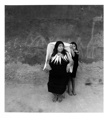 Javier Silva Meinel (Peruvian, born 1949). <em>Lurin - Lima, Peru</em>, 1993. Selenium-toned gelatin silver photograph, sheet: 19 7/8 × 15 7/8 in. (50.5 × 40.3 cm). Brooklyn Museum, Purchased with funds given by the Horace W. Goldsmith Foundation, Ardian Gill, the Coler Foundation, Harry Kahn, and Mrs. Carl L. Selden, 1995.74.2. © artist or artist's estate (Photo: Brooklyn Museum, 1995.74.2_bw.jpg)