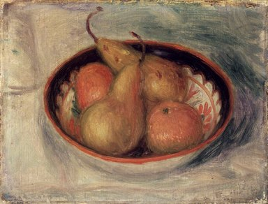 William Glackens (American, 1870-1938). <em>Pears and Oranges in a  Bowl</em>, ca. 1915. Oil on canvas, 10 x 13 in. (25.4 x 33 cm). Brooklyn Museum, Bequest of Mrs. Carl L. Selden, 1996.150.2 (Photo: Brooklyn Museum, 1996.150.2_transp648.jpg)