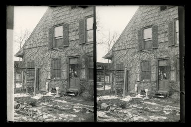 Daniel Berry Austin (American, born 1863, active 1899-1909). <em>Rem Lefferts, Fulton Street near Bedford Avenue, Brooklyn</em>, ca. 1899-1909. Gelatin silver glass dry plate negative Brooklyn Museum, Brooklyn Museum/Brooklyn Public Library, Brooklyn Collection, 1996.164.1-141 (Photo: Brooklyn Museum, 1996.164.1-141_glass_SL1.jpg)