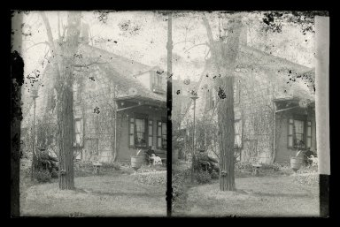 Daniel Berry Austin (American, born 1863, active 1899-1909). <em>Rem Lefferts, Fulton Street near Bedford Avenue, Brooklyn</em>, ca. 1899-1909. Gelatin silver glass dry plate negative Brooklyn Museum, Brooklyn Museum/Brooklyn Public Library, Brooklyn Collection, 1996.164.1-143 (Photo: Brooklyn Museum, 1996.164.1-143_glass_SL1.jpg)
