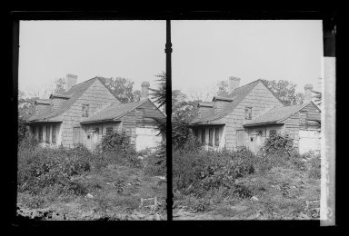 Daniel Berry Austin (American, born 1863, active 1899-1909). <em>L. Eldert House, Eldert Lane near Atlantic Avenue, Brooklyn</em>, ca. 1907. Gelatin silver glass dry plate negative Brooklyn Museum, Brooklyn Museum/Brooklyn Public Library, Brooklyn Collection, 1996.164.1-15 (Photo: Brooklyn Museum, 1996.164.1-15_IMLS_SL2.jpg)
