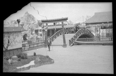 Eugene Wemlinger. <em>Japanese Village, Luna Park</em>, 1903. Cellulose nitrate negative Brooklyn Museum, Brooklyn Museum/Brooklyn Public Library, Brooklyn Collection, 1996.164.10-2 (Photo: Brooklyn Museum, 1996.164.10-2_IMLS_SL2.jpg)