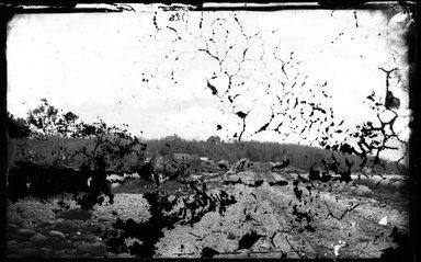 George Bradford Brainerd (American, 1845-1887). <em>Dam at Huntington, Long Island</em>, ca. 1872-1887. Collodion silver glass wet plate negative Brooklyn Museum, Brooklyn Museum/Brooklyn Public Library, Brooklyn Collection, 1996.164.2-126 (Photo: Brooklyn Museum, 1996.164.2-126_glass_bw_SL4.jpg)